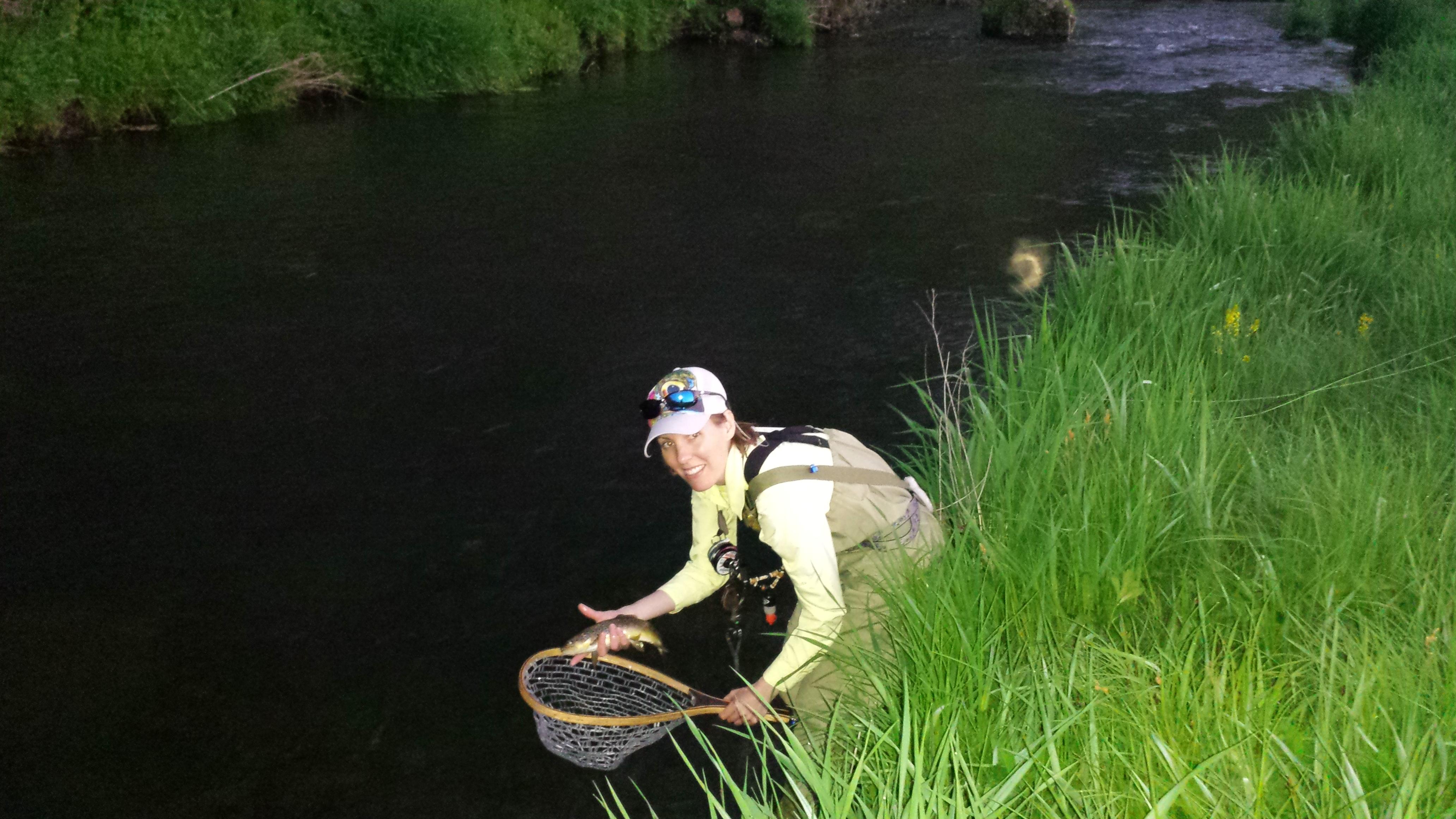 Fishing til dark71317 - Photo Gallery - Driftless Fishers